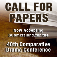Text & Presentation, 2007 (Text & Presentation) (The Comparative Drama Conference Series)